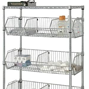 mobile wire basket