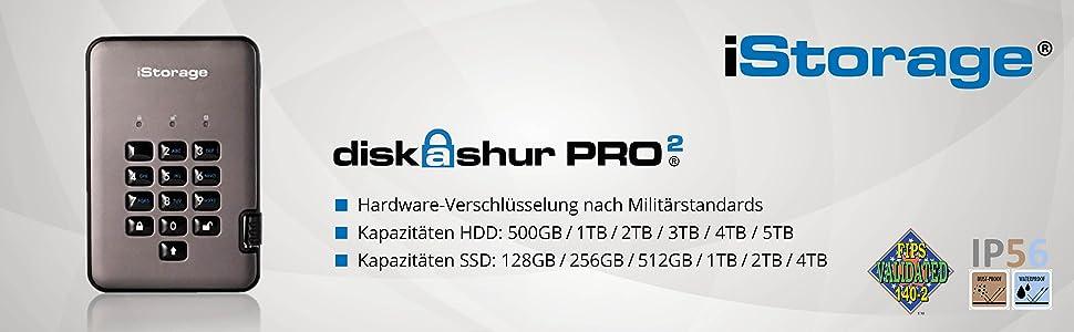 Istorage Is Dap2 256 Ssd 512 C G 512gb Diskashur Pro2 Computer Zubehör