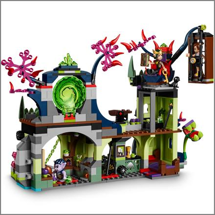 Amazon Com Lego Elves Breakout From The Goblin King S
