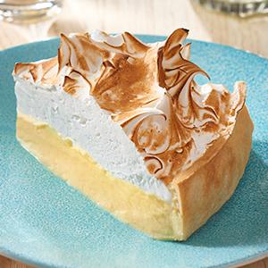 lemon, meringue, pie, dessert, cake, anglaise, creme, cream, carte d'or, nestle
