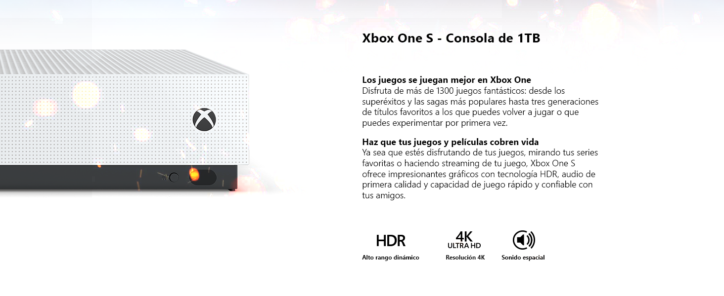 One S - Consola 1 TB + Battlefield V: Amazon.es: Videojuegos