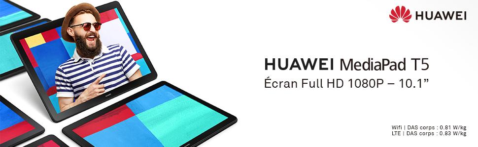 """huawei mediapad t5 ecran full hd 1080p 10.1"""""""