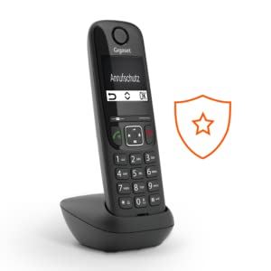 Gigaset AS690 Duo - Teléfono Inalámbrico, Pack de 2 Unidades, Manos Libres, Pantalla de Gran Contraste, Agenda de 100 Contactos, Color Negro: Gigaset: Amazon.es: Electrónica