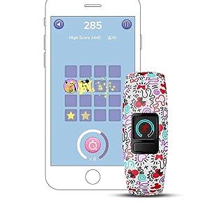 Garmin Vívofit Jr. 2 - Monitor de actividad para niños, Minnie ...