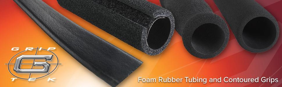 Grip Tek Black Buffed Foam Grips Npvc Foam Handle Grips
