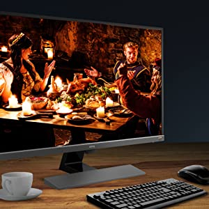 Stunning HDR Entertainment for the Ultimate Video Enjoyment (BenQ EW3270U)