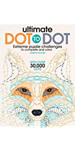 Puzzles; games; coloring; coloring books; doodling; dot-to-dot