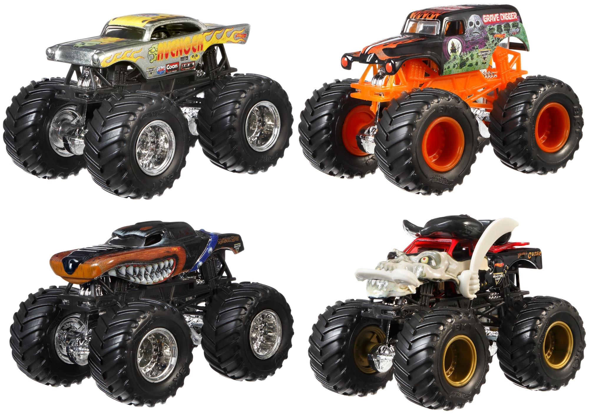 hot wheels monster jam tour favorites styles may vary die cast vehicles amazon canada. Black Bedroom Furniture Sets. Home Design Ideas