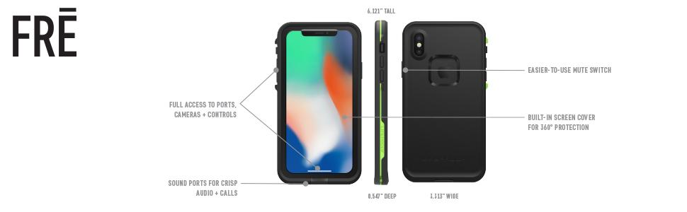 iphone x waterproof, iphone x case, iphone ten case, iphone ten waterproof