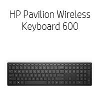 HP Pavilion Wireless Keyboard 600