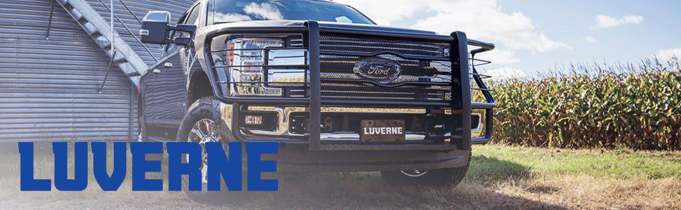 Lincoln Mark LT Select Ford F-150 LUVERNE 415088-400922 Grip Step Black Aluminum 88-Inch Truck Running Boards