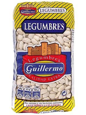 Guillermo Alubias Blancas Riñón Legumbres Calidad Extra Judías 1000 g