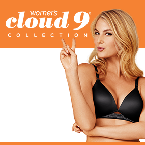 de14f85374031 Warner s Women s Cloud 9 Wirefree Contour Lift Bra