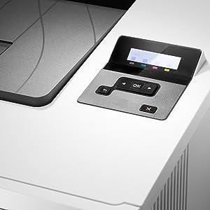 HP Color LaserJet Pro M454dn - Impresora Láser Monocromo (A4 Negro, hasta 27 ppm, de 750 a 4000 Páginas al Mes, 1 USB 2.0 , 1 USB Host, 1 Red Gigabit ...
