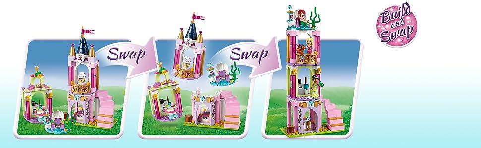Disney, princess, castle