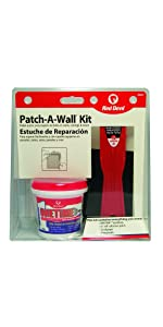 Red Devil 0549 Patch-A-Wall Kit drywall hole repair wall