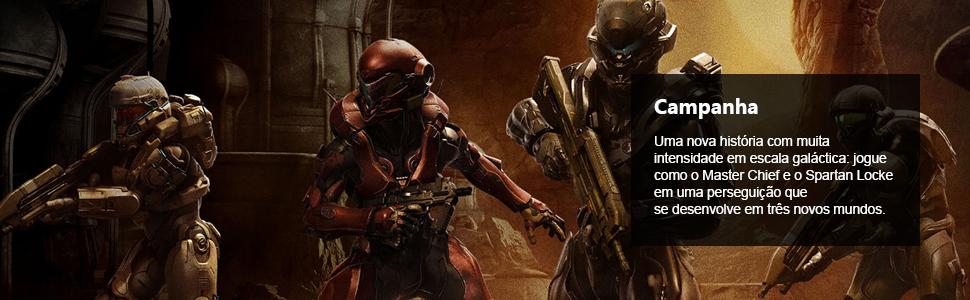 Halo 5, Halo 5 Guardians, maior evolução na história de Halo, master chief, spartan locke