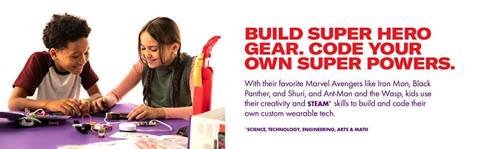 Build super hero gear