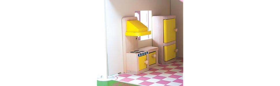 Bigjigs Toys Doll Furniture Set