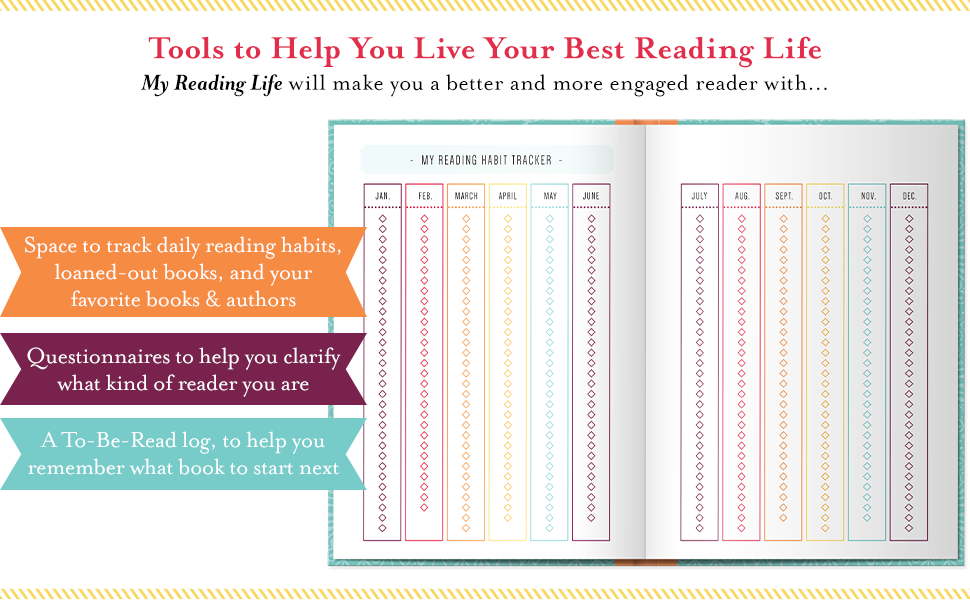 Also helps you track reading habits, favorites, and what book to read next