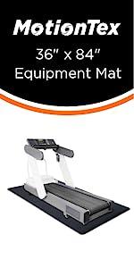 """36"""" x 84"""" fitness equipment mat"""