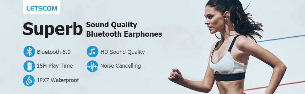 sweatproof bluetooth headphones
