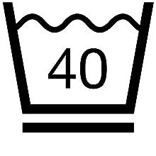 lavable à 40°, conditions d'entretien