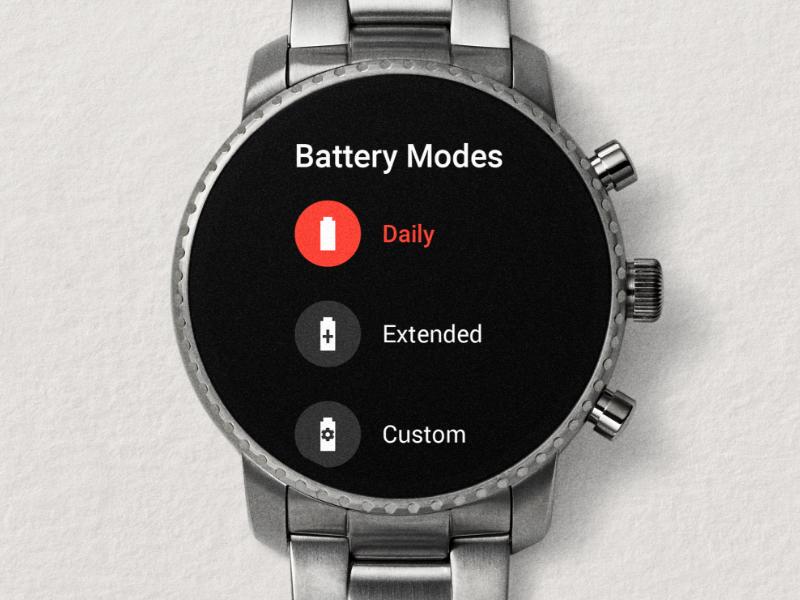 Gen 4 Smart battery modes