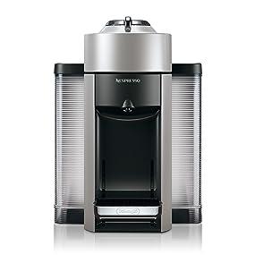 nespresso vertuo coffee and espresso machine by de 39 longhi silver kitchen dining. Black Bedroom Furniture Sets. Home Design Ideas