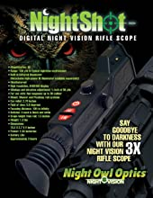 NightShot night vision rifle scope