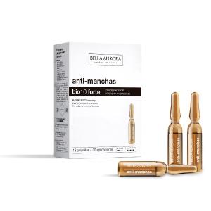 Bella Aurora Bio10 Tratamiento Despigmentante Facial Intensivo en Ampollas | Anti-Manchas, 15 Ampollas: Amazon.es