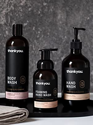 thankyou, personal care, body wash, hand wash