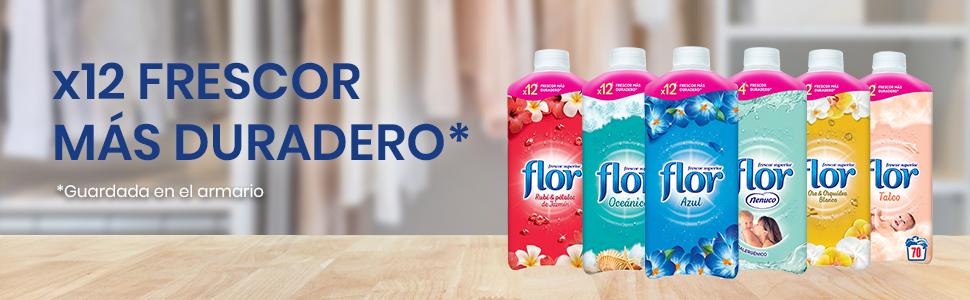 Flor Nenuco - Suavizante para la ropa concentrado - Hipoalergénico, 1060 ml [Pack de 2]
