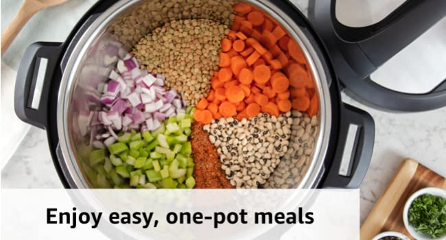 Instant Pot Duo 7-in-1 Pressure Cooker - Enjoy easy one pot meals