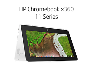 HP Chromebook x360 11 Series