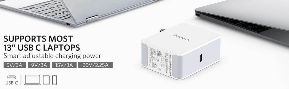usb c fast charger for laptops