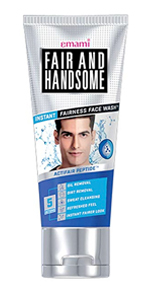 Emami, Face Wash, Face for Men, Fair and Handsome