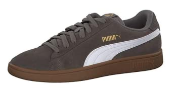 Puma Puma Smash v2, Unisex Erwachsene Sneakers, Schwarz (Puma Black Puma White Puma Silver), 43 EU