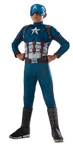 Child Captain America Costume