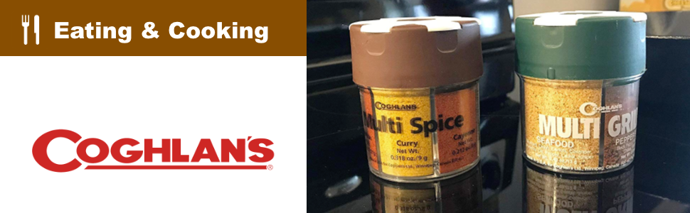 Coghlan's Eating and Cooking — Grill Spices