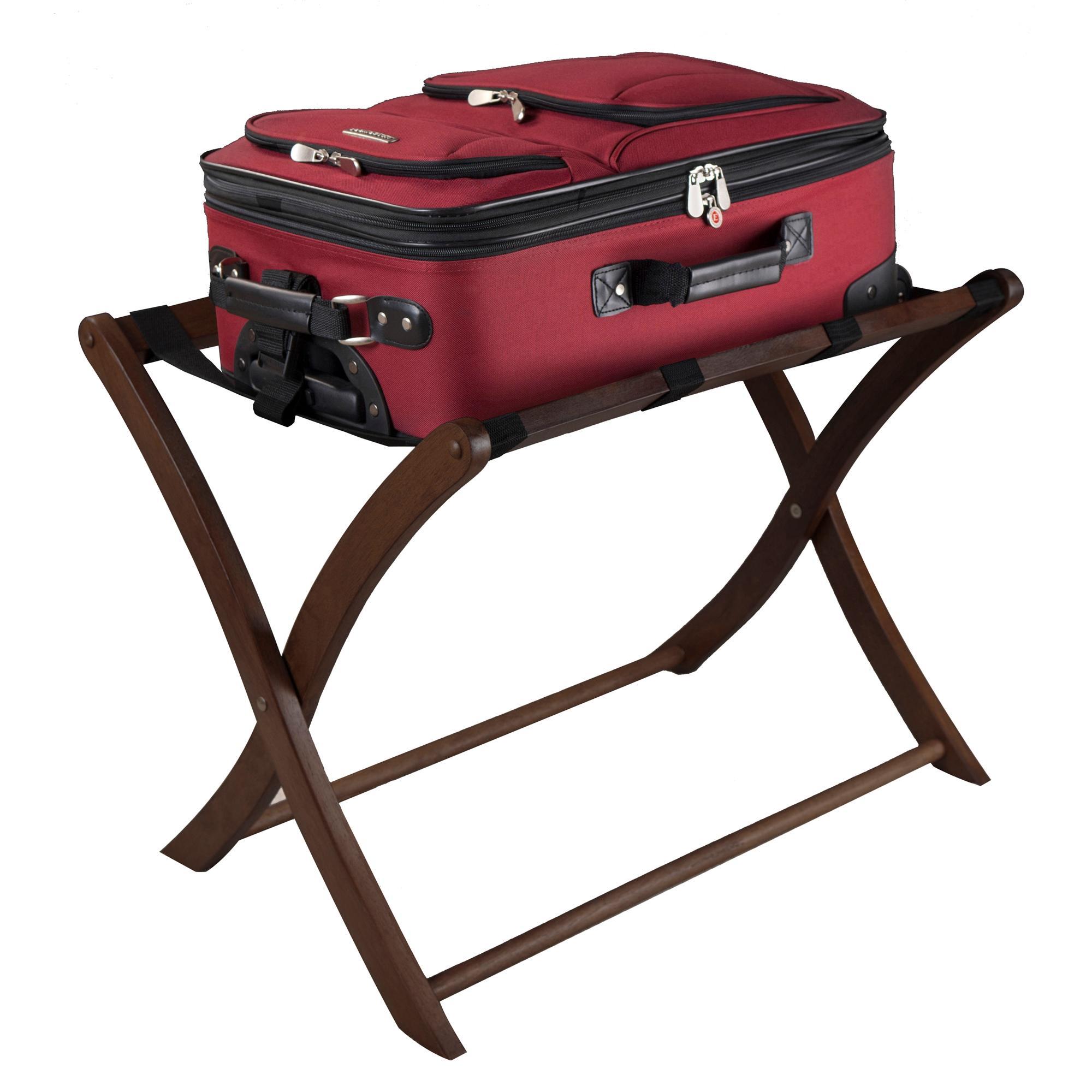 Amazon.com: Winsome Wood Luggage Rack, Walnut: Kitchen & Dining