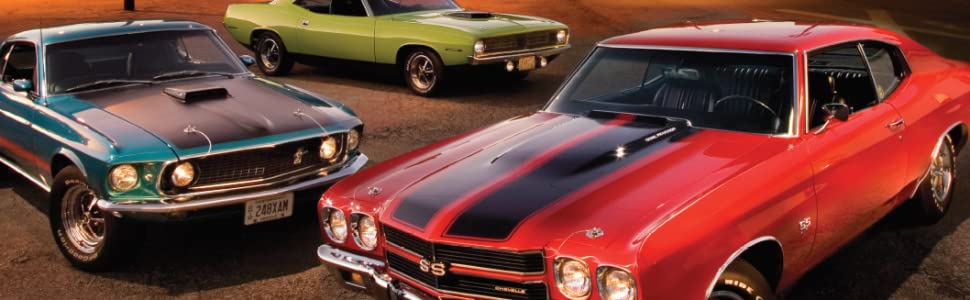 American Muscle Cars A Full Throttle History Holmstrom Darwin