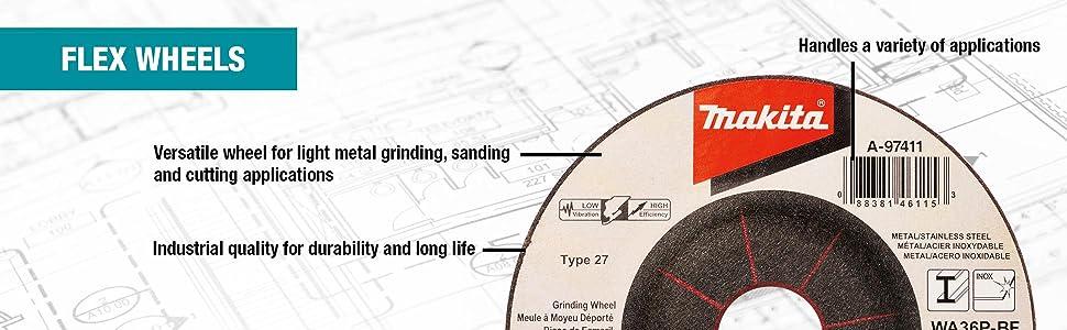 grinding wheel INOX flex wheels callout features