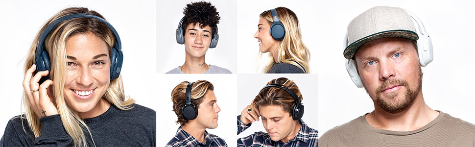Riff Wireless On-Ear Headphones on Models