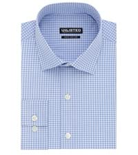 unlisted slim check dress shirt