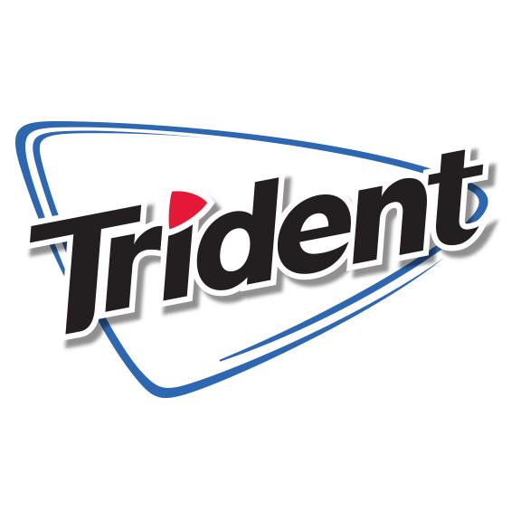 amazon com trident sugar free gum strawberry twist 14 pieces rh amazon com trident gum logo meaning