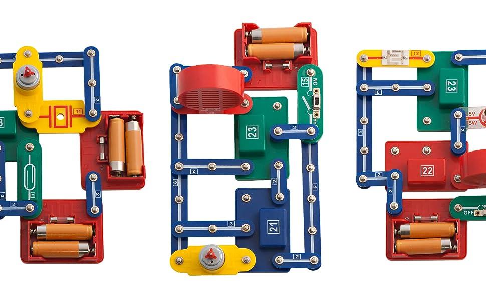 Miniland-Electrokit 198 Experimentos Kit de construcción de ...