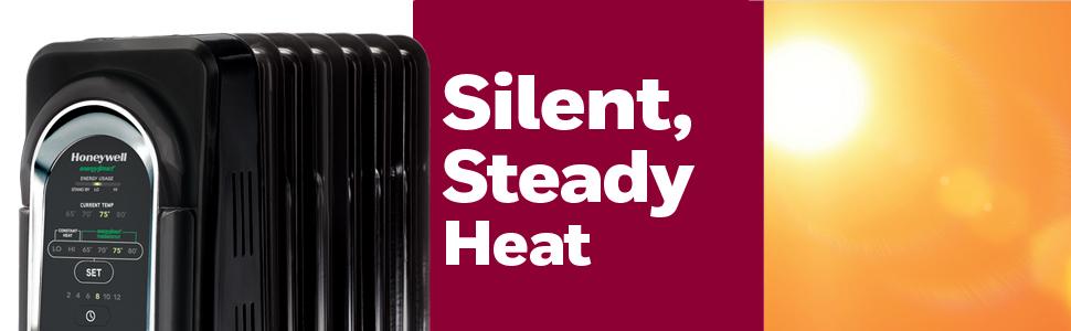 silent steady heat
