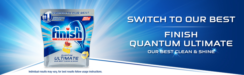 Switch to our best clean and shine
