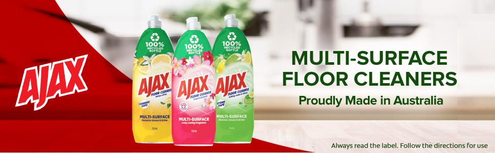 Floor cleaner header